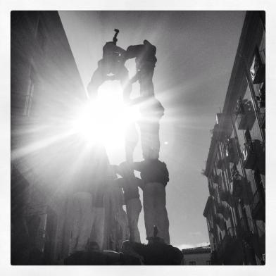 Brillen els castellers (@clarajordanvila)