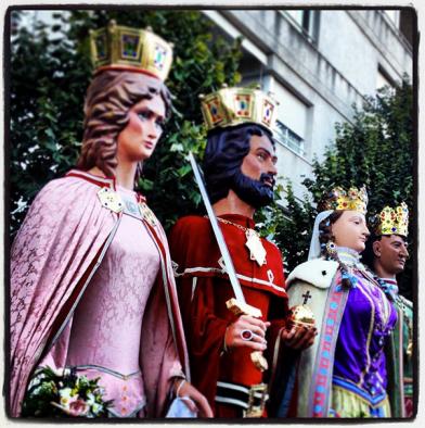 Els gegants (@perecornella - instagram)