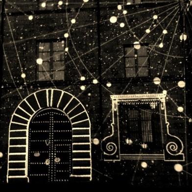 'Mapping' i moltes estrelles (@savigusma - instagram)