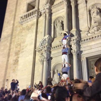 Els Marrecs superant reptes a la Catedral (@mkus_ - instagram)
